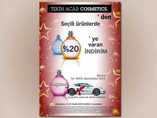 Parfüm afişi
