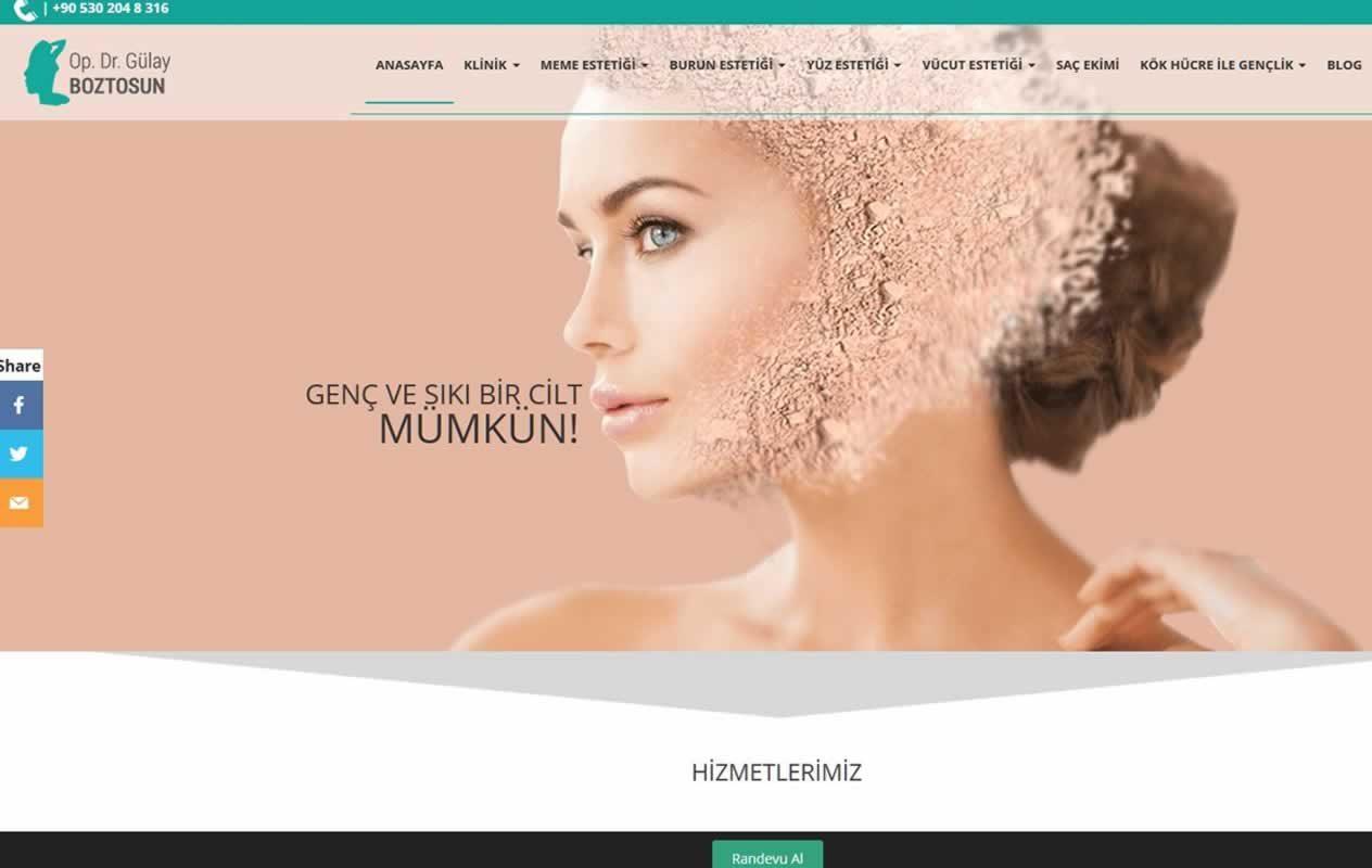Estetik cerrah web sitesi