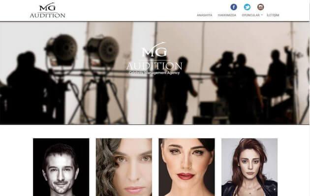 Cast Ajansı Web Sitesi