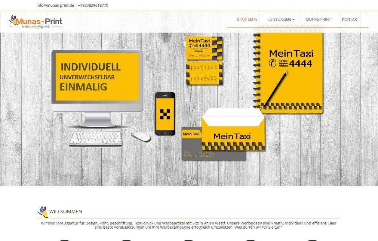 Dijital Baskı Web Sitesi